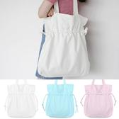 手提包 手提包 帆布包 手提袋 環保購物袋--抽繩/單肩【SPK25】 BOBI  10/06