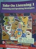 【書寶二手書T9/語言學習_PMV】Take on Listening(1)-Listening and Speakin
