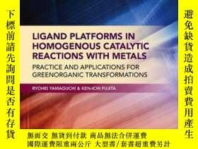 二手書博民逛書店Ligand罕見Platforms in Homogenous Catalytic Reactions with