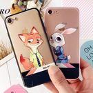 動物城iPhone7手機殼兔子蘋果7plus軟膠情侶保護套6s卡通狐狸5.5