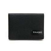 PLAYBOY- 名片夾   Formula 7.4系列-黑色