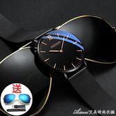 超火的手錶新款手錶男 學生韓版簡約潮流休閒防水 艾美時尚衣橱
