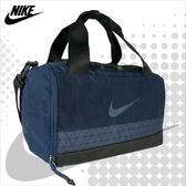 NIKE 旅行袋 BRSLA S DUFF 藍色 小側背包 運動提袋 桶包 手提包 BA5545-410 得意時袋