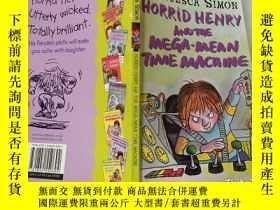 二手書博民逛書店horrid罕見henry and the mega mean time machine :可怕的亨利和超級機器,