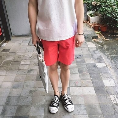 【找到自己】工裝 潮流 短褲 男短褲 REMXI AJ SQUAD 無印全素面 潮流短褲