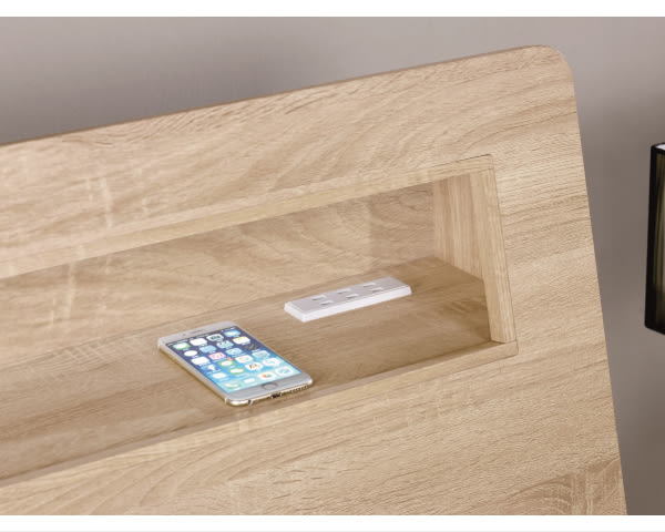 床底【YUDA】格瑞斯 6尺 被櫥式 雙人床(不含床墊.單邊抽屜)/床底/床架/床台 J8M 073-1