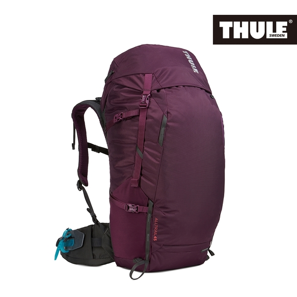 THULE-AllTrail系列45L女用登山包-紫紅