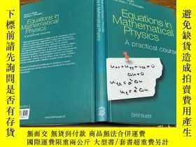 二手書博民逛書店Equations罕見in Mathematical PhysicsY171500 看图 看图