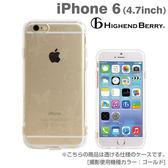 ❤Hamee 日本 Highend Berry 設計圖樣系列 透明軟式TPU 4.7吋 iPhone6 手機殼 (天堂花園) [558-984046]