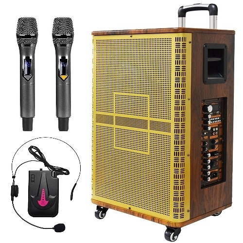 大聲公鼎艦型15吋專業無線式多功能行動音箱/喇叭