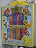 【書寶二手書T5/兒童文學_ZEA】My First Library Disney Classic_共12本合售_附殼