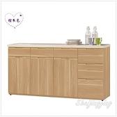 【水晶晶家具/傢俱首選】JM1941-2 維克多5.2尺栓木色石面收納櫃