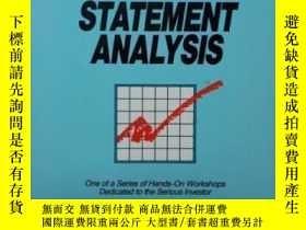 二手書博民逛書店Financial罕見Statement Analysis (the Investor s Self-teachi