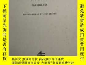 二手書博民逛書店英文原版罕見The Artless Gambler [Hardc
