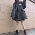 工裝外套 2019年新款正韓寬鬆中長款工裝冬裝襖子棉衣棉服冬季外套女冬  艾森堡