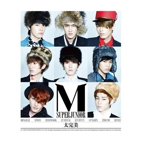 SUPER JUNIOR-M太完美CD 第二張國語迷你專輯  SJ-M 附35頁貴公子