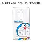 哆啦A夢透明軟殼 [大臉] ASUS ZenFone Go ZB500KL (5吋) 小叮噹【正版授權】