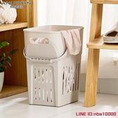 洗衣籃特大號塑料臟衣籃臟衣服收納筐裝衣物婁籃子浴室放玩具框洗衣簍桶JD CY潮流站