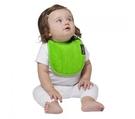 紐西蘭 Mum 2 Mum 機能型神奇口水巾圍兜-初生款-萊姆綠 吃飯衣 口水衣 防水衣