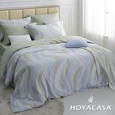 特大四件式抗菌天絲兩用被床包組-HOYACASA波利亞