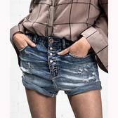 OneTeaspoon 牛仔短褲 破褲 CLUB BLUE LOVERS -藍(女)三