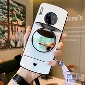 華為mate30手機殼男女款mate30pro全包華為mate20玻璃新款軟硅膠個性創意防摔【英賽德3C數碼館】