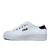 Fila 白 女鞋 休閒鞋 運動 低筒 刺繡 小LOGO 帆布 基本款 潮流 滑板鞋 板鞋 小白鞋 5-C910S-110