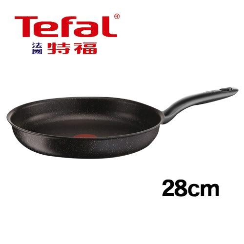 法國特福Tefal 大理石不沾平底鍋(28cm)【愛買】