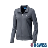 K-SWISS Retro Jacket運動外套-女-灰