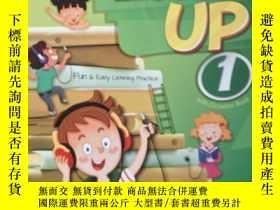 二手書博民逛書店LISTEN罕見UP 1: FREE ONLINE PROCTICE,有2張光盤( new edition)Y