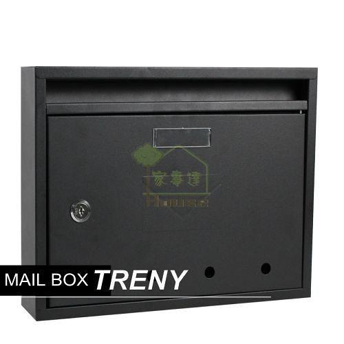 [ 家事達 ] HD-HDB976GS -寬型信箱-黑 特價 信箱/鑄鐵信箱/信件箱/意見箱