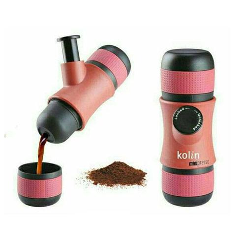 【Kolin歌林】便攜式手壓濃縮咖啡機/戶外/登山 KCO-LN407E