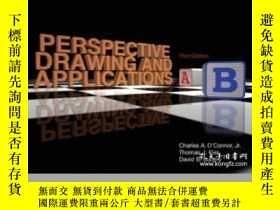 二手書博民逛書店Perspective罕見Drawing And Applications (3rd Edition)-透視圖與應