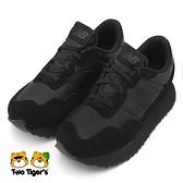 NEW BALANCE 237 鞋帶 大童 童鞋 全黑 R7253(GS237BK1)