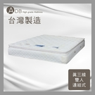【多瓦娜】ADB-安妮真三線乳膠連結式床墊/雙人5尺-042-12-B