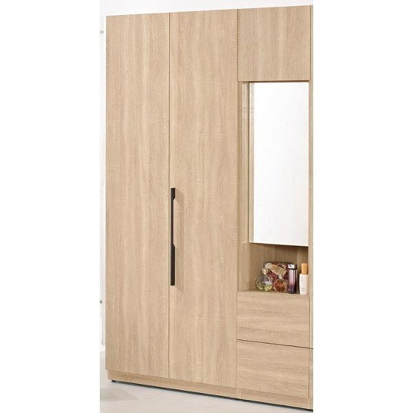 衣櫃 衣櫥 MK-623-24 尼爾森4尺衣櫥 【大眾家居舘】