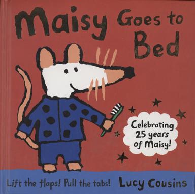 【小暑波波操作書】MAISY GOES TO BED /生活自理.睡前準備