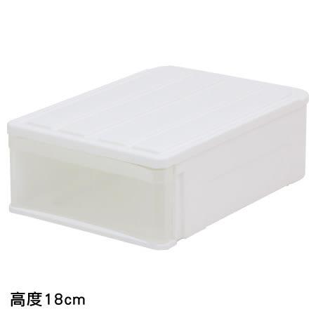 收納盒 CARO53 H18 高度18cm NITORI宜得利家居