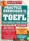 二手書博民逛書店《Practice Exercises for the TOEF
