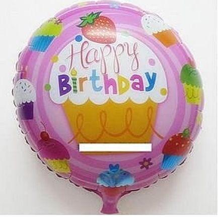 happy birthday(F07)18吋鋁箔氣球(未充氣)~~求婚道具/婚禮 生日 耶誕節 尾牙佈置