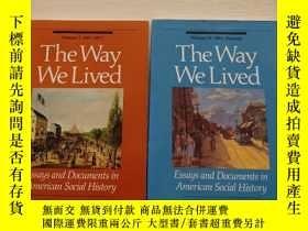二手書博民逛書店TheWayWeLived:EssaysandDocu