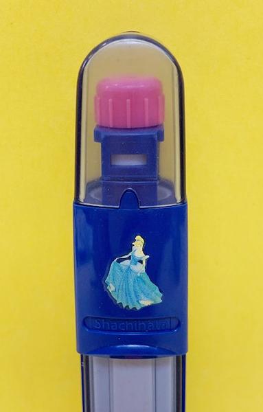 【震撼精品百貨】Disney 迪士尼公主系列~印章套藍-灰姑娘#20513