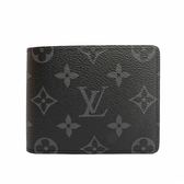 【LV】Monogram對開八卡短夾(深灰) M62294