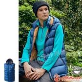Wildland 荒野 0A62172-72深藍色 男700FP拆帽輕羽絨背心 機能羽絨馬甲/防風背心/羽絨夾克/爬山健行