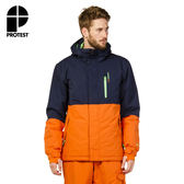 PROTEST 男 機能防水保暖外套 (椒澄色) RUN SNOWJACKET