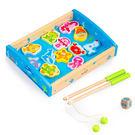 木製玩具  木質釣魚遊戲組盒裝