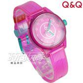 Q&Q SmileSolar mini冰淇淋款 日本機芯 011太陽能錶 櫻桃薄荷 桃粉 女錶 防水手錶 學生錶 RP01J011Y