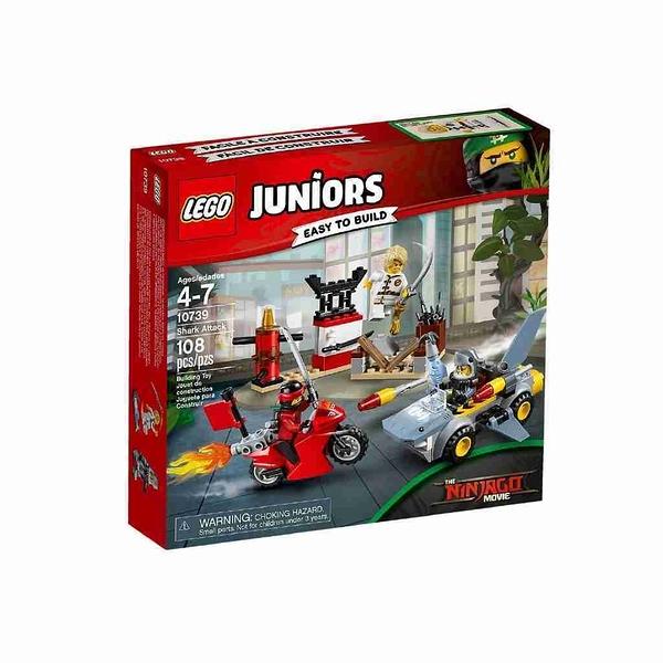 LEGO 樂高 Juniors Ninjago 忍者 鯊魚襲擊 10739