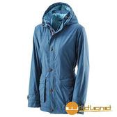 荒野 Wildland 女 絲絨防潑防風保暖外套 『藍綠』A22911