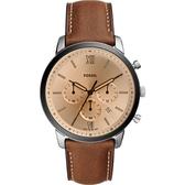 FOSSIL NEUTRA 時尚流行計時手錶-44mm FS5627